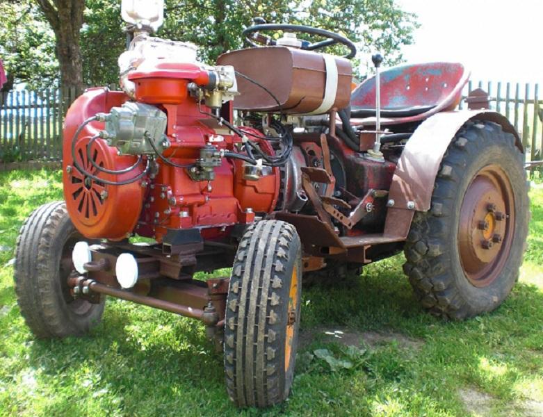 Как сделать самоделки трактора